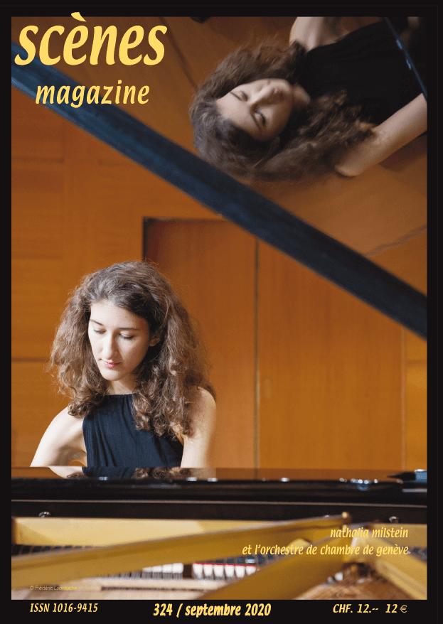 Scènes magazine Couverture juin 2020