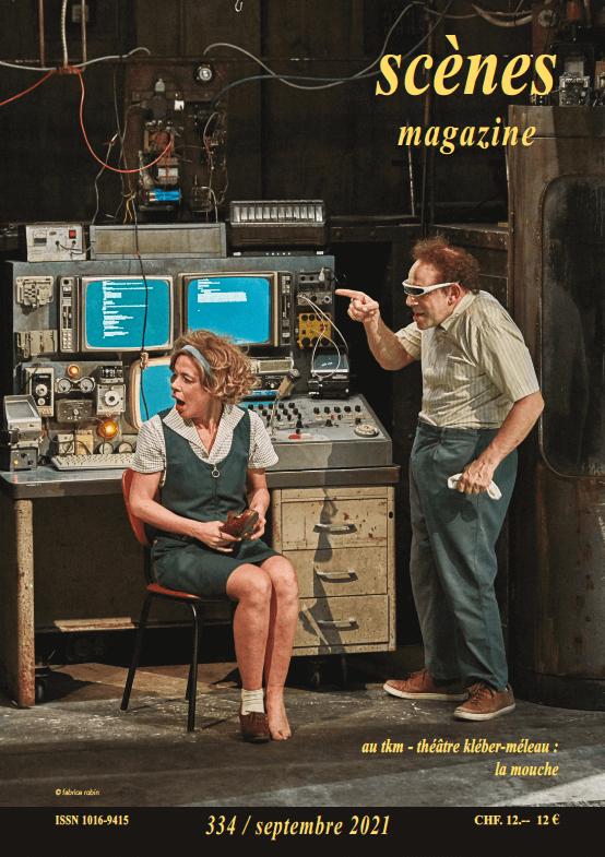 Scènes Magazine couverture mars 2021